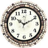 weimeishi歐式藝術鐘錶 時尚創意靜音時鐘 美式現代簡約客廳掛鐘XSX