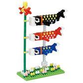 《 Nano Block 迷你積木 》NBH-174 鯉魚旗╭★ JOYBUS玩具百貨