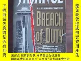 二手書博民逛書店Breach罕見of DutyY85718 J.A.Jance