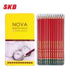 SKB 文明 IP-820 素描鉛筆12支入 /盒
