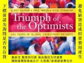 二手書博民逛書店Triumph罕見Of The OptimistsY256260 Elroy Dimson Princeton