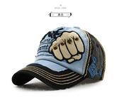 #男帽#棒球帽#塗鴉 拳頭 鉚釘 骷髏頭 運動 遮陽 防曬 鴨舌帽 棒球帽【JT9910】 icoca  10/11
