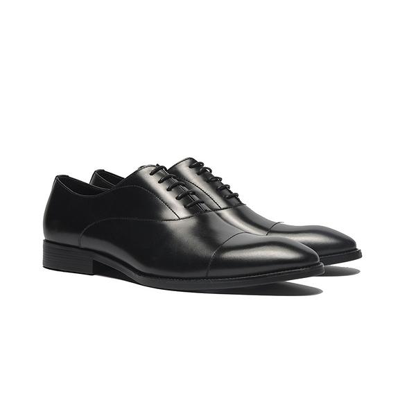 WALTZ-經典橫紋牛津鞋212562-02黑