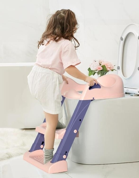 家用兒童馬桶坐便器樓梯式