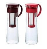 金時代書香咖啡 HARIO 冷泡咖啡壺1000ml 兩色可選紅 / 咖啡 MCPN-14