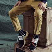 襪子 品牌繡字條紋襪.(台灣製)【QNA029】.CACO