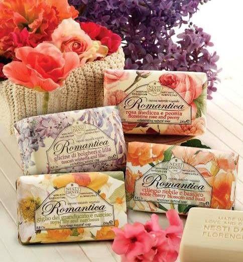 Nesti Dante 義大利手工香皂-羅勒和諾貝爾櫻花  250g