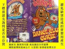 二手書博民逛書店scooby罕見doo and the dance club curse:史酷比和舞蹈俱樂部詛咒Y200392