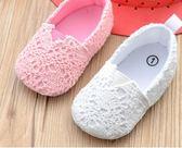 春夏款女寶寶單鞋套腳懶人鞋嬰兒軟底防滑學步鞋0-1歲幼兒鞋子新 新知優品