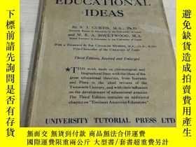 二手書博民逛書店A罕見short history of educational