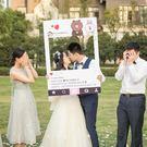 訂製 instagram相框拍照道具定制朋友圈手持邊框牌網紅風ins拍照框婚禮 優樂美