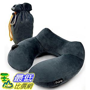 [美國直購] 航空坐飛機用頸枕睡枕枕頭 Daydreamer 5937249 Neck Pillow - Luxuriously Soft Inflatable Travel Pillow