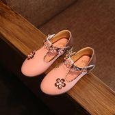 2018春款女童鞋公主鞋兒童鞋子童鞋新款皮鞋 LQ3217『夢幻家居』