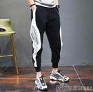 2020夏季薄款小腳衛褲男士運動寬鬆束腳收口休閒長褲九分褲子 印象