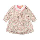 【愛的世界】玫瑰內刷毛洋裝/4~10歲 -中國製- ★秋冬洋裝