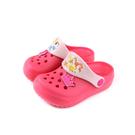 Disney 迪士尼 公主系列 涼鞋 花園鞋 桃紅色 小童 童鞋 D320233 no002 15~20cm