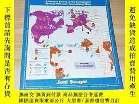 二手書博民逛書店THE罕見NEW STATE OF THE EARTH ATLASY177113 JONI SEAGER JO