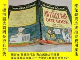 二手書博民逛書店THE罕見AWFULLY BIG QUIZ BOOK《非常大的測驗書。》Y200392