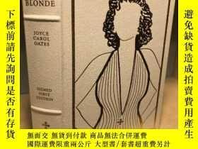 二手書博民逛書店【包罕見】Blonde,《金髮女郎》,Joyce Carol O