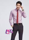★依芝鎂★k1083手打領帶中窄領帶窄版領帶窄領帶6CM,售價150元