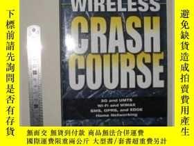 二手書博民逛書店英語原版罕見Wireless Crash Course 【 Pa