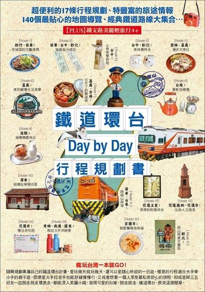 鐵道環台Day by Day行程規劃書