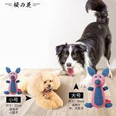 全館83折 狗狗玩具發聲耐咬金毛拉布拉多大型犬泰迪幼犬小狗磨牙寵物狗用品