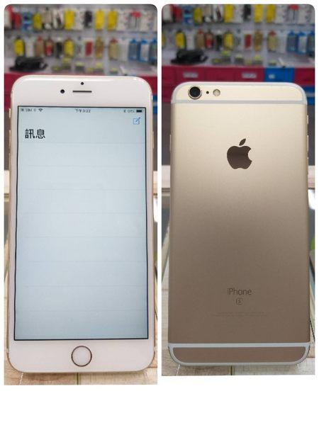 ☆胖達3C☆Z APPLE IPHONE 6S PLUS 16G A1687 金 85%新 可搭配各家電信 高價回收手機