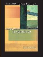 二手書博民逛書店 《Managing behavior in organizations》 R2Y ISBN:013127306X│JeraldGreenberg