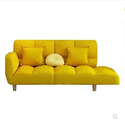 ins網紅懶人沙發小戶型單雙人陽台摺疊沙發床臥室榻榻米小沙發椅 NMS 黛尼時尚精品