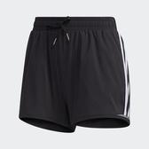 Adidas Urban 3-Stripes女款黑色透氣運動短褲-NO.GJ9031