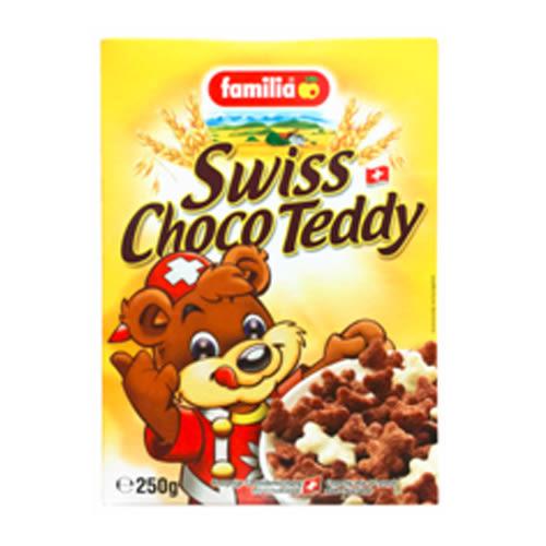 瑞士全家小熊巧克力玉米夾心脆片【愛買】