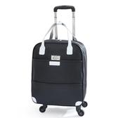 拉桿包 大容量拉桿式旅行包輕便手提牛津布可折疊行李箱打工行李包拖拉包 - 歐美韓熱銷