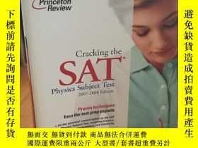 二手書博民逛書店Cracking罕見the SAT Physics Subjec
