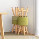 小凳子家用矮凳創意兒童圓凳板凳客廳餐凳換鞋凳實木臥室化妝椅子WD 3C優購