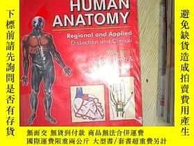 二手書博民逛書店HUMAN罕見ANATOMY Volume 1Y203004