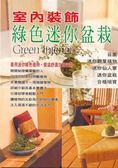 室內裝飾綠色迷你盆栽