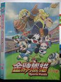 影音專賣店-X22-232-正版DVD*動畫【金牌熊貓(17-20集)】-國語發音