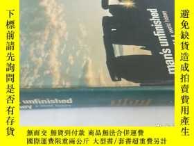 二手書博民逛書店Man s罕見Unfinished journey (a wor