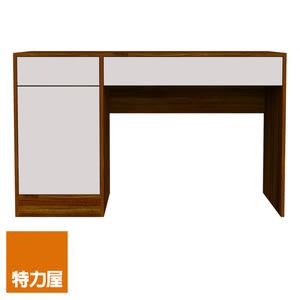 特力屋 查克雙抽單門書桌 採E1板材