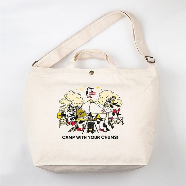 CHUMS Camp With Your CHUMS Canvas Shoulder 側背包 CH6029680000【GO WILD】