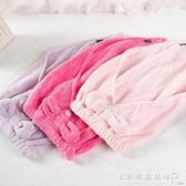 純色三角幹髪帽 吸水柔軟幹髪毛巾長髪短髪珊瑚絨包頭毛巾 CR水晶鞋坊