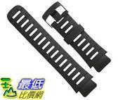 [106美國直購] Suunto X-Lander Military S Lander Original Black Rubber Strap Kit SS013706000 手錶帶