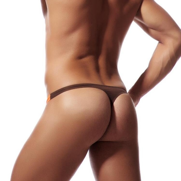 新品特價!!日韓歐美外貿EABY亞馬遜U凸薄款冰絲低腰外貿男士內褲丁字褲E042