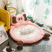 卡通靠背頭枕地墊客廳地毯家用寶寶爬爬墊榻榻米墊