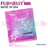 慾望之都 潤滑液 按摩油 芙杰莉 FujiJelly 水溶性潤滑液隨身包(每包3.5ml) 單包入