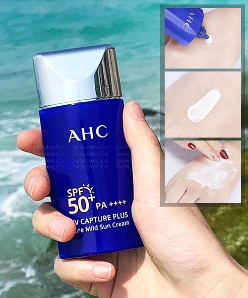 【2wenty6ix】韓國 AHC UV Capture Plus 清爽型水潤溫和防曬霜50ml