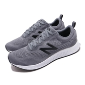 New Balance 慢跑鞋 Fresh Foam Arishi V3 2E 寬楦 灰 黑 男鞋 運動鞋 【ACS】 MARISLG32E