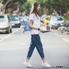 STAYREAL 擁抱生活牛仔哈倫褲...