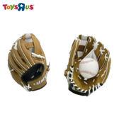 玩具反斗城【STATS】青少年棒球手套含球